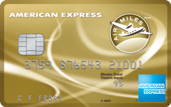 Carte de crédit AIR MILES<sup>md*</sup> American Express<sup>MD</sup>