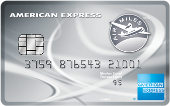 Carte de crédit de Platine AIR MILES<sup>MD*</sup><sup>MC*</sup> American Express<sup>MD</sup>
