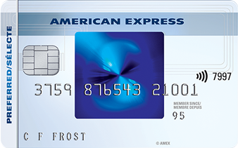 Carte sélecte RemiseSimple<sup>MC</sup> d'American Express<sup>MD</sup>