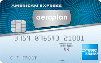 Carte AéroplanPlus<sup>MD*</sup> American Express<sup>MD</sup>