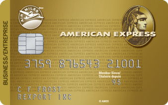 Carte pour entreprise AIR MILES<sup>md</sup>*<sup>mc</sup>* American Express<sup>MD MC</sup>