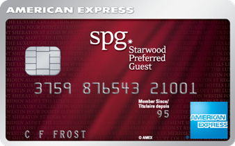 Carte de crédit Starwood Preferred Guest<sup>MD*</sup> d'American Express