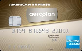 American Express<sup>®</sup> AeroplanPlus<sup>®*</sup> Gold Card