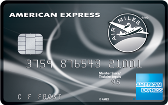 American Express<sup>®</sup> AIR MILES<sup>®*</sup> Reserve Credit Card
