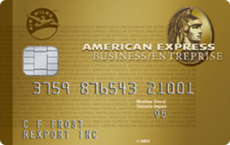 Carte en Or entreprise AIR MILES<sup>MD*</sup><sup>MC*</sup> American Express<sup>MD</sup>