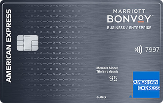Carte Marriott Bonvoy<sup>MC</sup> Entreprise American Express<sup>MD</sup>