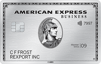 Business Platinum Card<sup>®</sup> from American Express