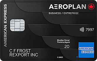 American Express<sup>®</sup> Aeroplan<sup>®*</sup> Business Reserve Card
