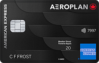 Carte Prestige Aéroplan<sup>MD*</sup> American Express<sup>MD</sup>